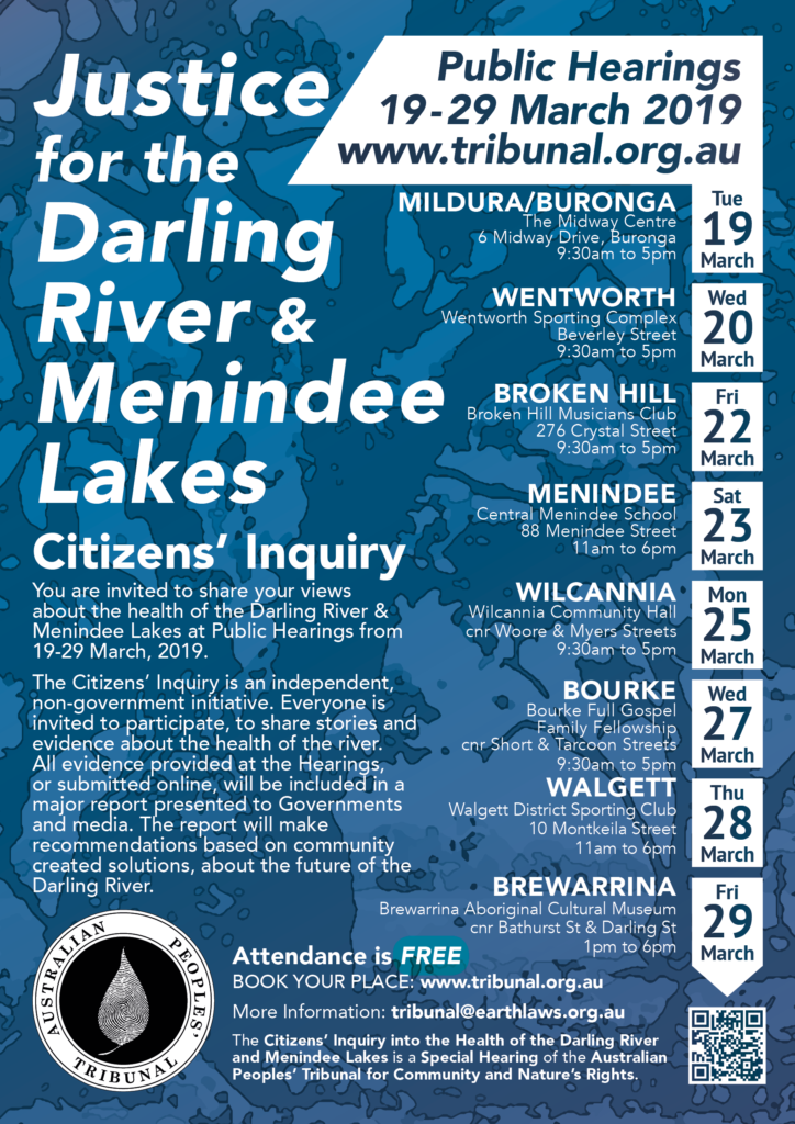 Citizens' Inquiry poster